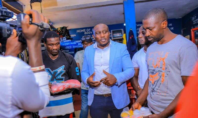Melbet Boss Yasin Rescues Ugandan Struggling Boxers With Equipments Worth Millions