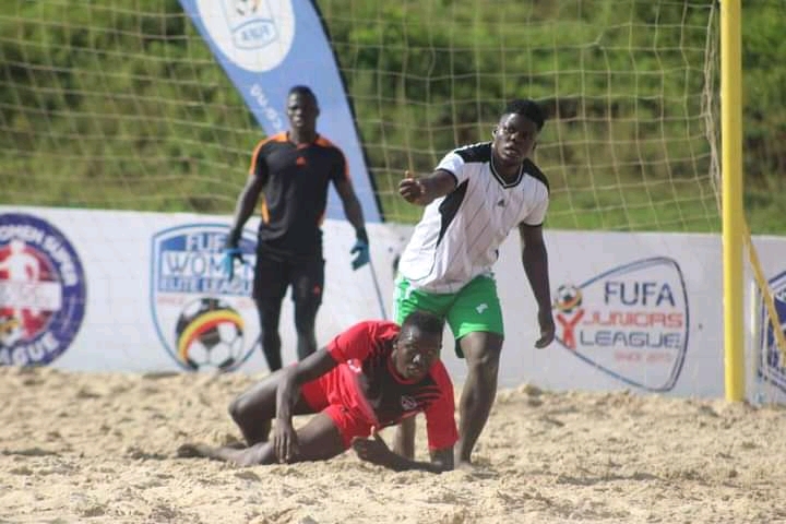 Beach Soccer: Brilliant St Lawrence BSC Smashes Entebbe Sharks, MUBS