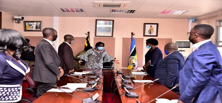 We're Tired Of Empty Promises: Teachers Storm Speaker Kadaga's Office Over UGX20B Presidential Bailout