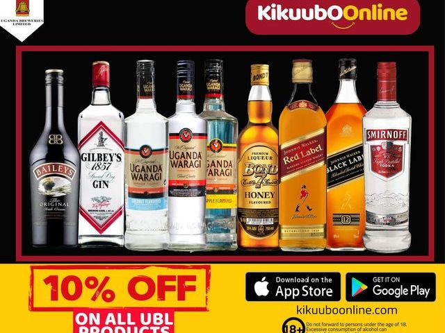 Tune Your Weekend With Kikuubo Online's Sumptuous Booze Stock: Fronts All Tribes Of Drinks At 'Crazy' Prices This Weekend