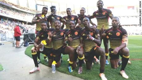 Uganda Rugby Cranes XV Team Warms Up For Training Ahead Of International Face-Offs