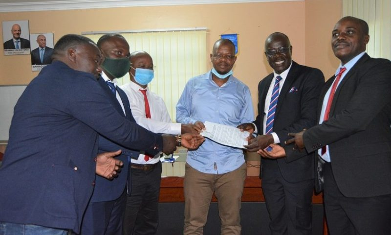 You're The Only Man With Vision: Buganda Region Delegates Endorse Incumbent Magogo For FUFA Presidency