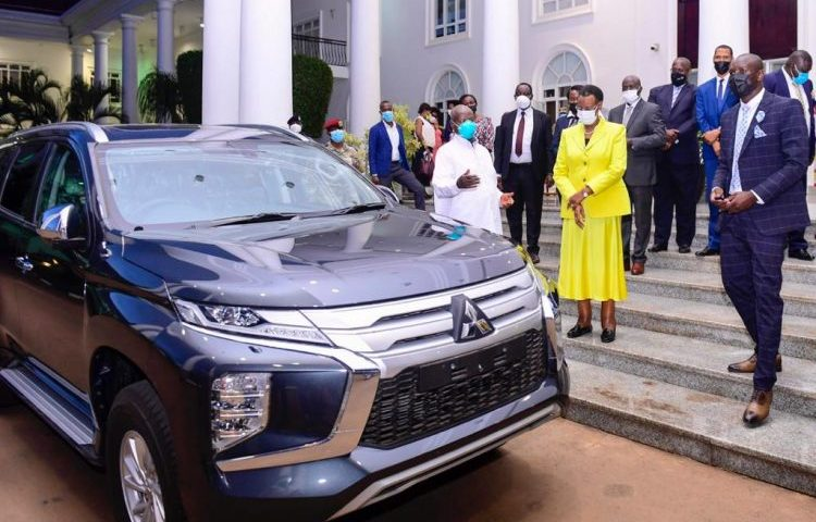 Well Done My 'Son': Museveni Gifts Former Uganda Cranes Captain Onyango With Brand New Sports Ride