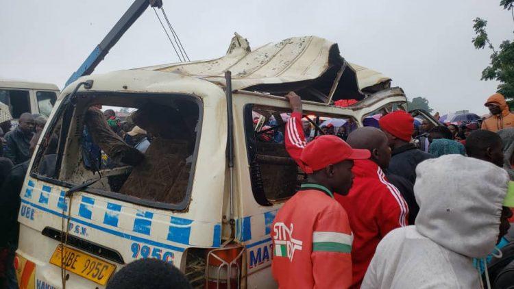 Tragedy: 14 People Perish In Masaka-Mbarara Road Accident