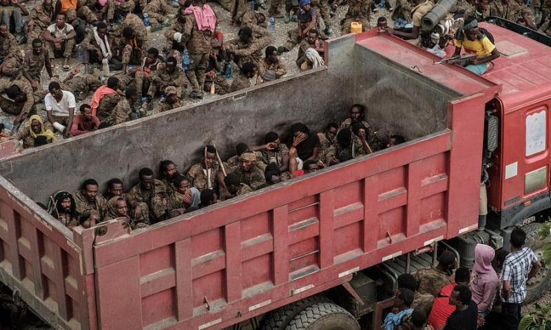 Tension: More Than 7,000 Ethiopian Soldiers Captured By Rebel Fighters In Tigray Region