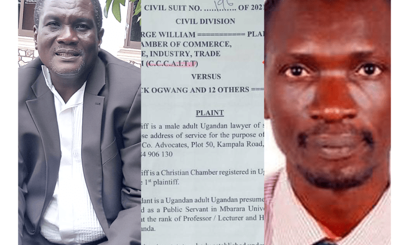 Cough All Millions Collected From Covidex To Gov't- Lawyer Orders Prof.Ogwang As He Drags Him To Court