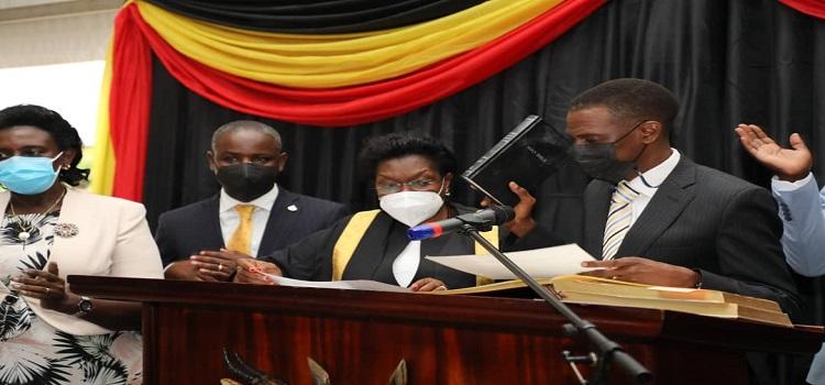 AG Kiwanuka Kiryowa, 7 Other Parliamentary Ex-Officios Take Oaths