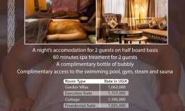 What An Offer! Speke Resort Munyonyo Unveils Calabash Spa Executive Pampering Filled With Heap Of Goodies