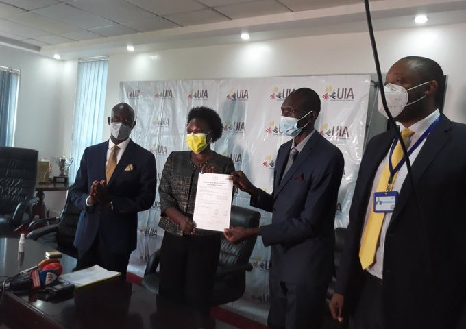 UIA Gives Prof Ogwang 5 Acres Of Land, 10-yr Tax Exemption For Mass Covidex Production