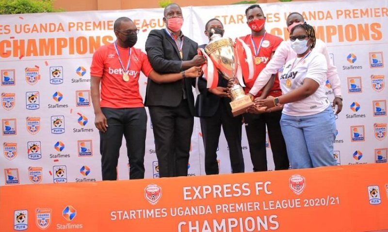 Hail The Champions: Express Officially Crowned As 2020-2021 StarTimes Uganda Premier League Winner