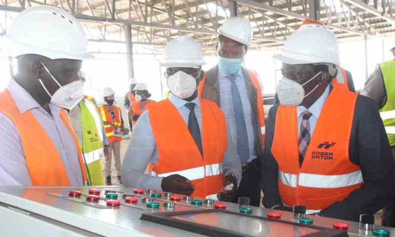 No More Outcry, Water Challenges In City Resolved: NWSC Board C/man Kiggundu, ED Mugisha Reveals After Completion Of Katosi Plant