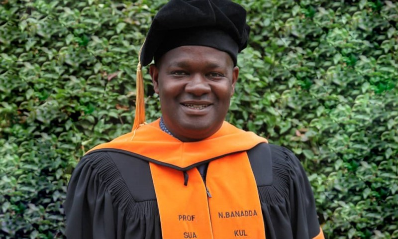 Prof. Noble Banadda: How 1st Sub-Saharan African To Graduate With PhD In Chemical Engineering Impacted On African Society