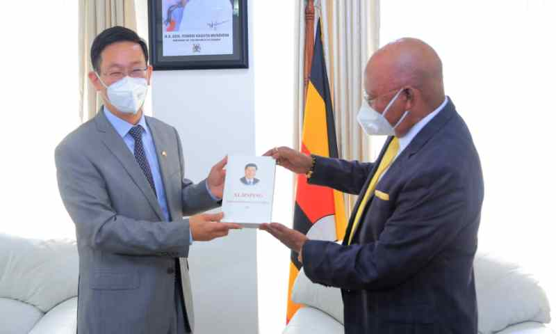 Odongo Receives Credentials Of Zhang Lizhong-Chinese Ambassador To Uganda, Hails China's Support In Infrastructural Dev't