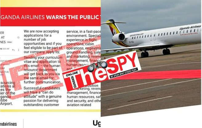 Suspended Uganda Airlines Staff Allegedly Involved In Fake Job 'Recruitments' To Defraud Unsuspecting Job Seekers