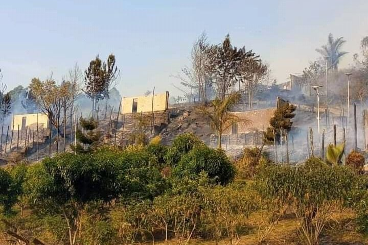 UWA Trashes Allegations Of Starting Fire Which Gutted MP Kateshumbwa's Park View Hotel In Rubirizi District