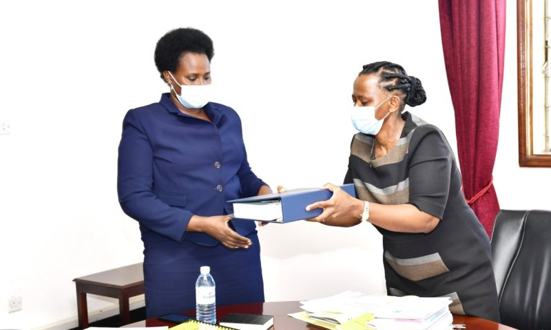 Lucy Nakyobe Finally Hands Over State House Comptroller Office As She Joins Public Service