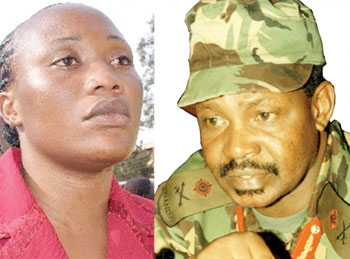 Lydia Draru Who Smashed Gen.Kazini's Head Released Out Of Luzira Prison After 14 Years