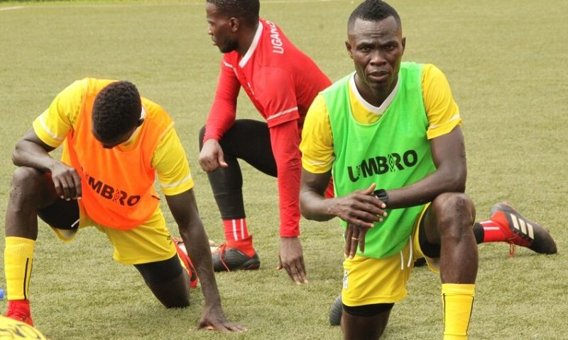 Captain Okwi, Iguma, Gift Ali Arrive In Uganda Cranes Camp, Training Intensifies