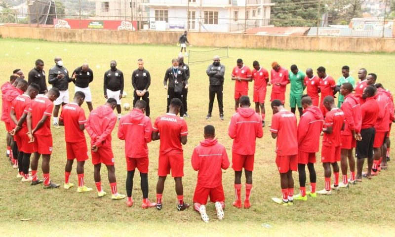 Uganda Cranes Conclude Opening Week Of Training, Technical Team Impressed