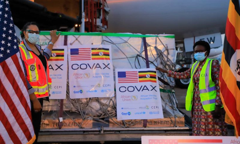 Uganda Receives More 647,080 COVID-19 Vaccines To Boost Inoculation