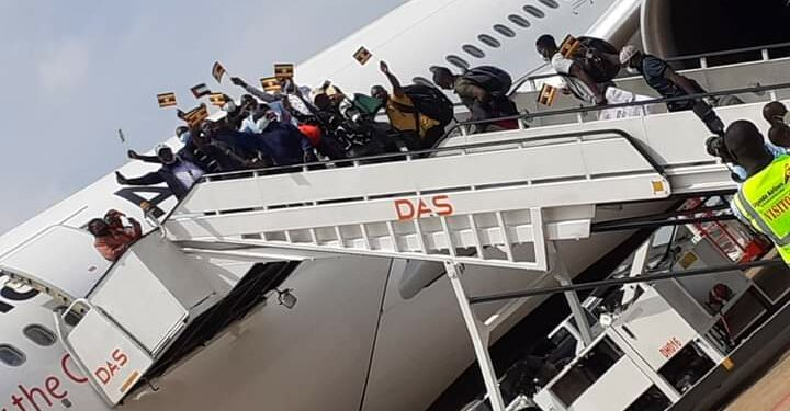 It Was Another Success: Uganda Airlines' Inaugural Flight To Dubai Attracted Over 75 Passengers, Tons Of Cargo
