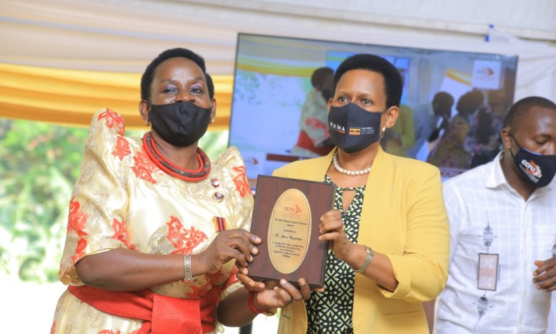 Thanks For Promoting Our Culture: Cross-Cultural Foundation Of Uganda Recognizes Dr.Nambatya In National Cultural Heritage Awards