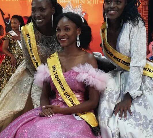 Finally: Susan Kahunde Adyeeri Crowned Miss Tourism Uganda 2021/2022