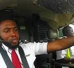 Meet Captain Kennedy Udeze, The Jovial, Focused & Experienced Uganda Airlines Pilot