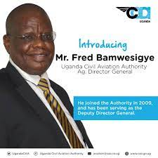 Museveni Confirms Fred Bamwesigye As New  DG Uganda Civil Aviation Authority, To Bag UGX 30m Per Month!