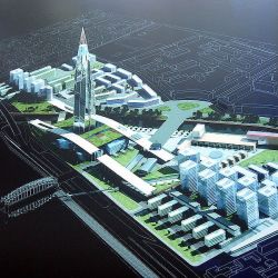 Okhta_Center_projected_view_of_the_district