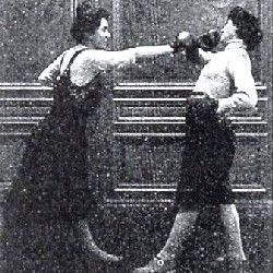 Savate - French Boxing Frauen 1912