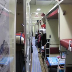 Dvina_named_train,_Polotsk-Moscow._Couchette_car._Main_corridor_view,_pic.2