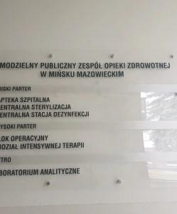 Pawilon – tablica informacyjna