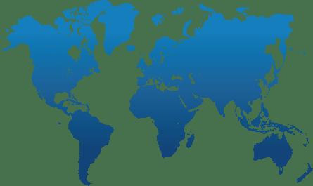 Carte du monde en droit international