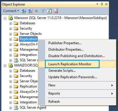 Configure Replication in SQL Server 2012 Step by Step