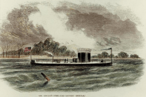 The USS Monitor, detect high VLF count