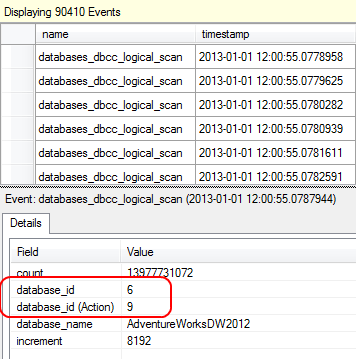 DBCC Scan Output