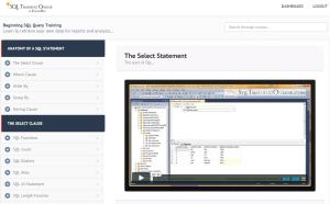 Beginning SQL Query Training on SQL Server
