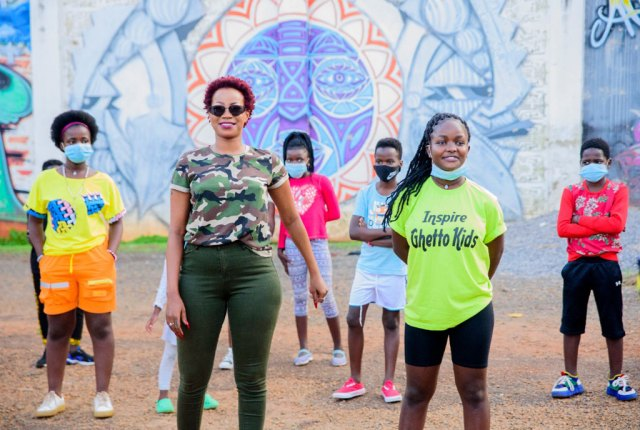 Sheebah and the Ghetto Kids, both 2021 Nickelodeon Kids Choice Awards Nominees