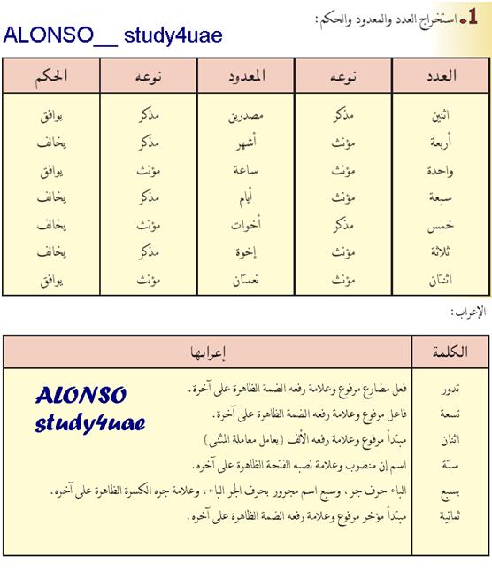 حل كتاب اللغة العربية للصف السادس الفصل الدراسي الثاني