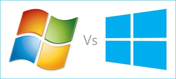 مقارنة بين ويندوز 7 وويندوز 8 وايهما افضل صقور الإبدآع