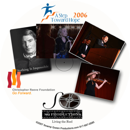 DVD disk art featuring photography