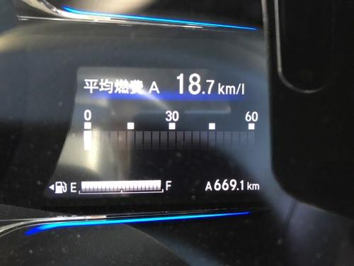 ホンダ ヴェゼル 燃費テスト13