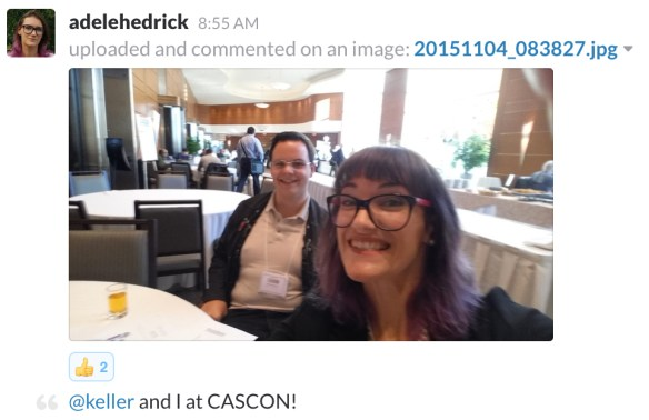 Message from students attending CASCON 2015