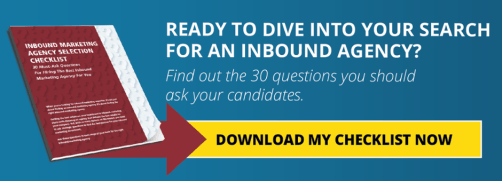 Inbound Agency Selection Checklist