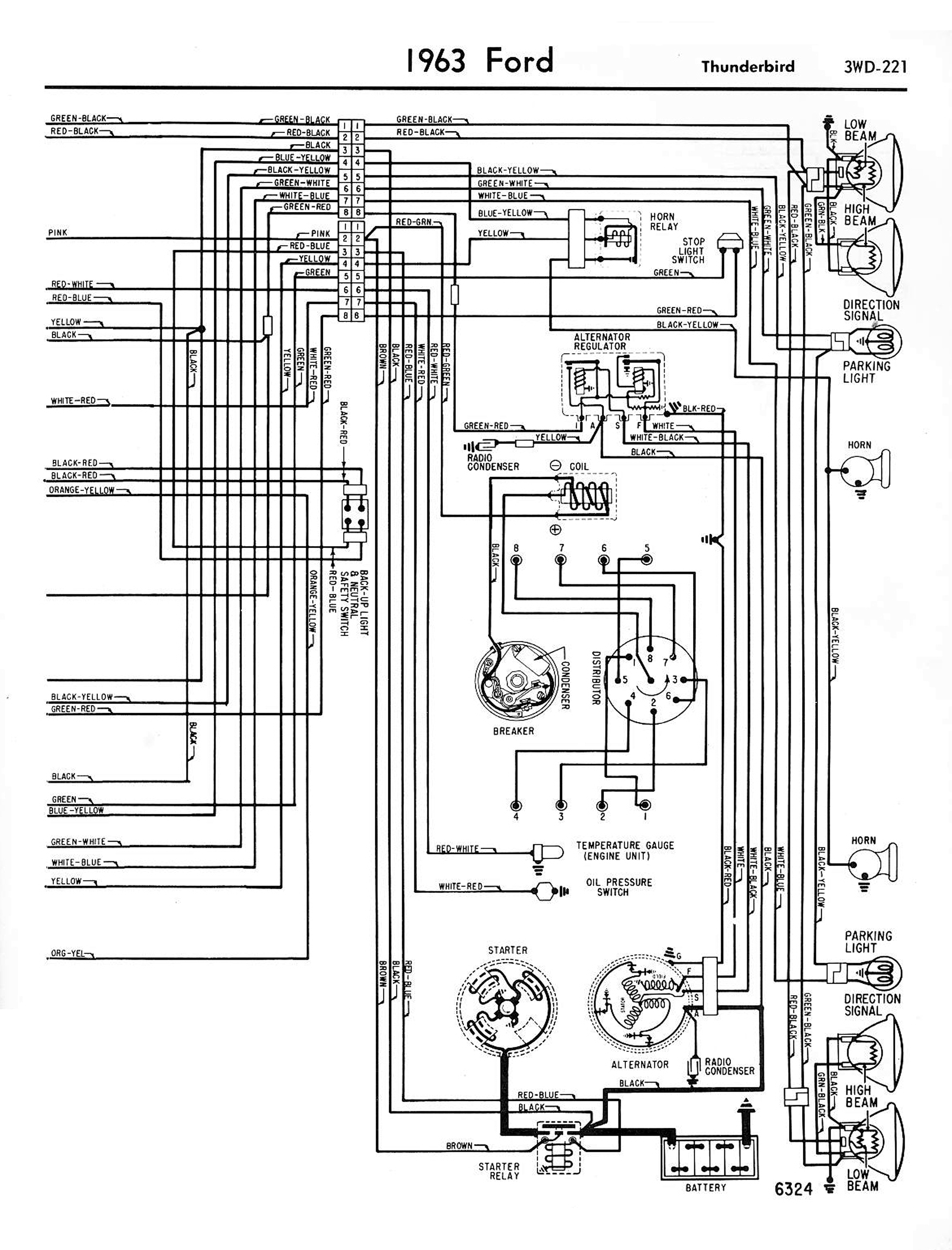 Basic 1 Wire Alternator Wiring Diagram