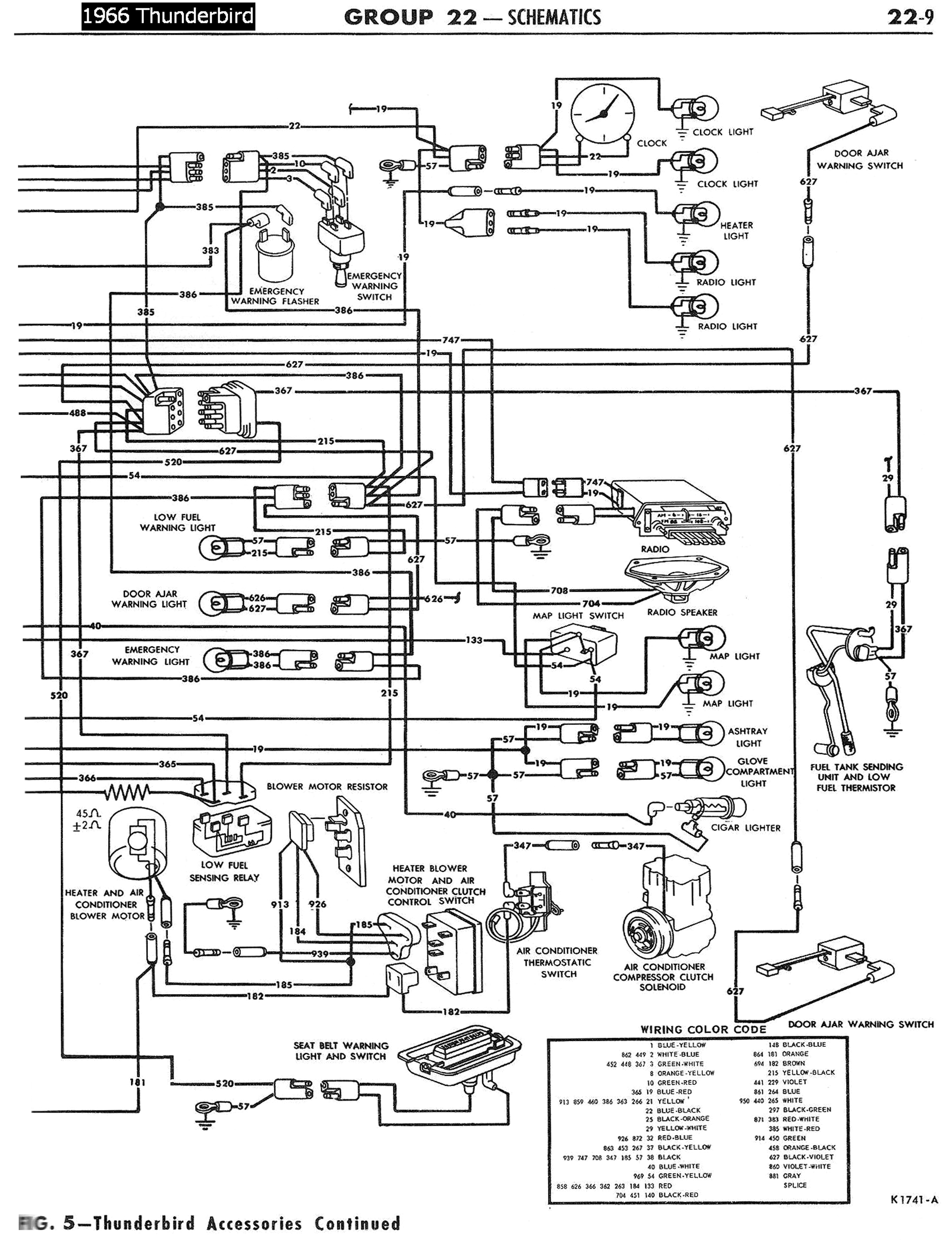 Pontiac Chieftain Wiring Diagram