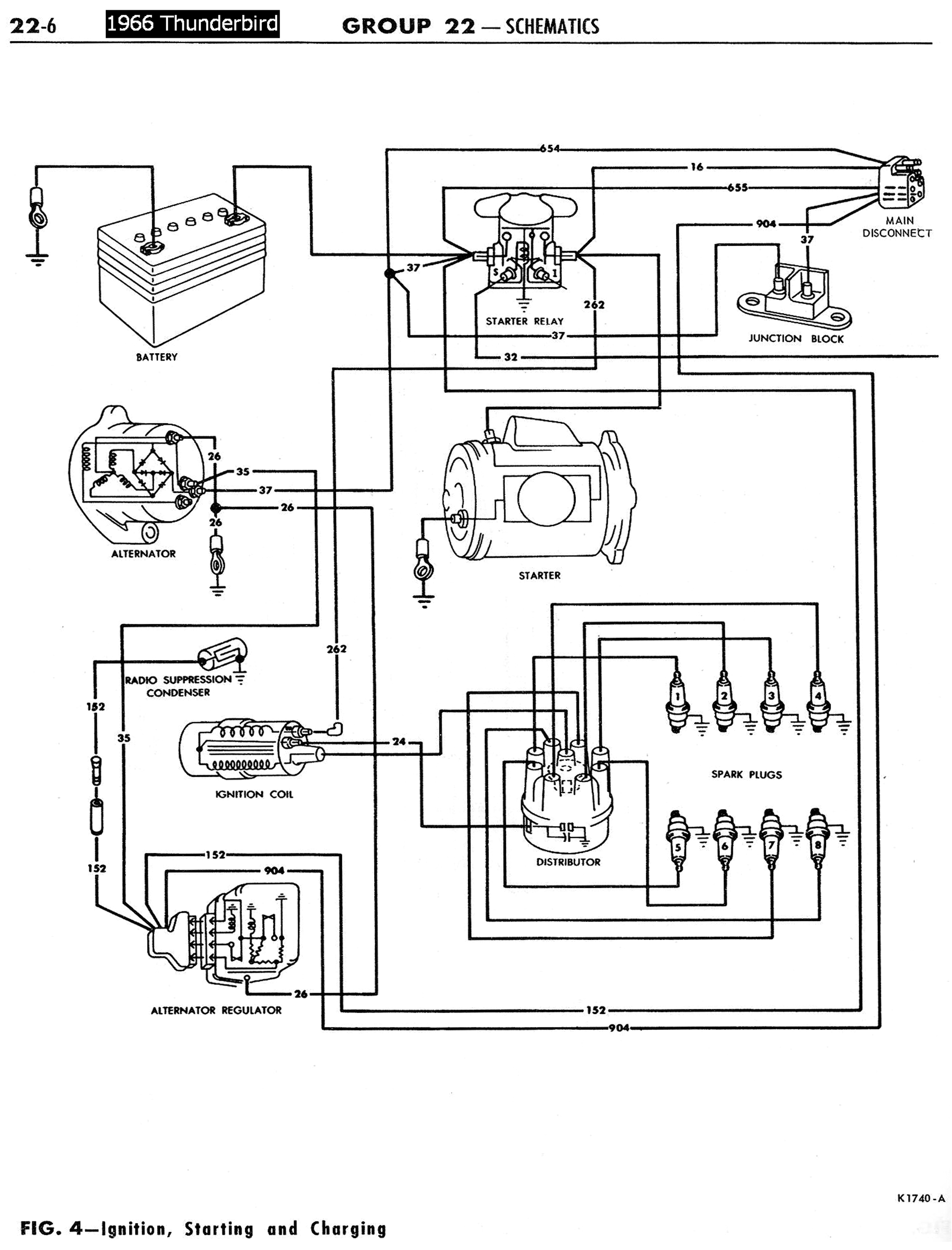 Wrg Thunderbird Power Window Wiring Diagram
