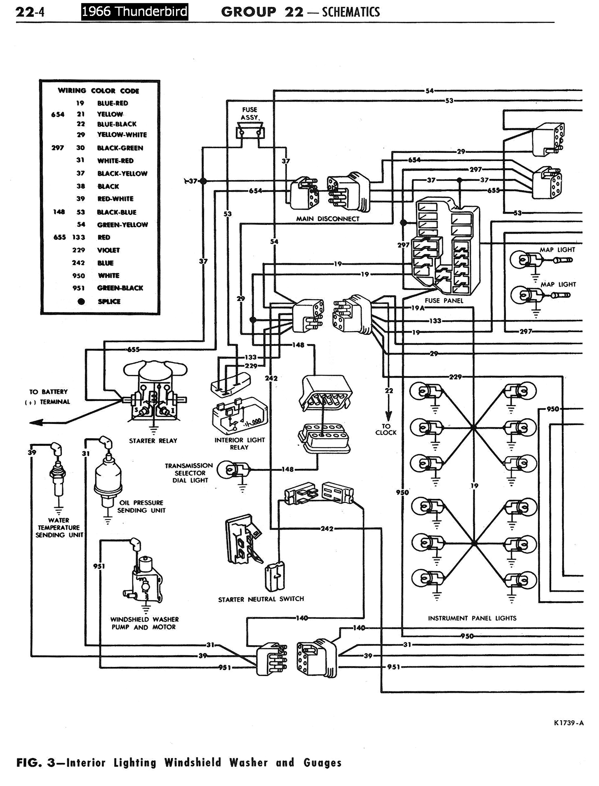 Wiring Diagram For A Ford Thunderbird