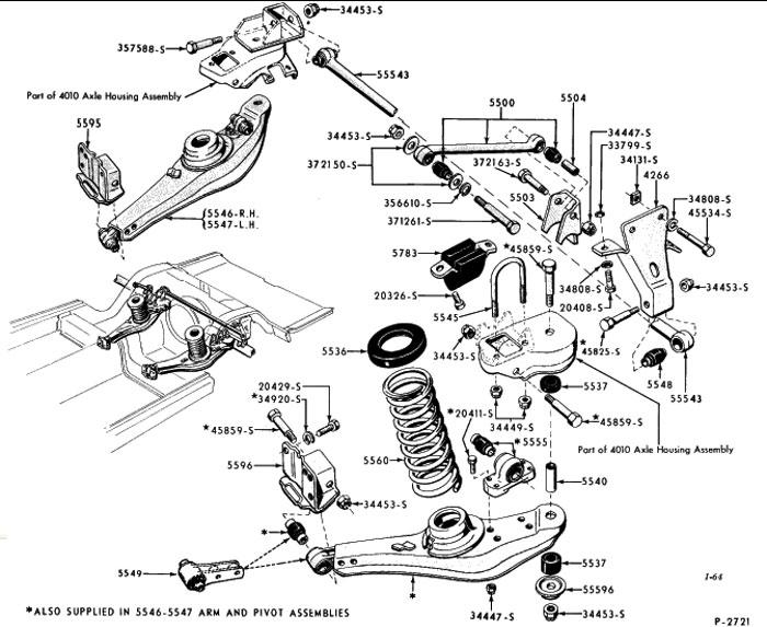 2003 ford explorer suspension parts diagrams Ford F-350 Rear Suspension Diagram